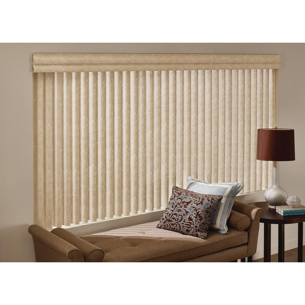 Cadence Soft Vertical Blinds Installed Hunter Douglas