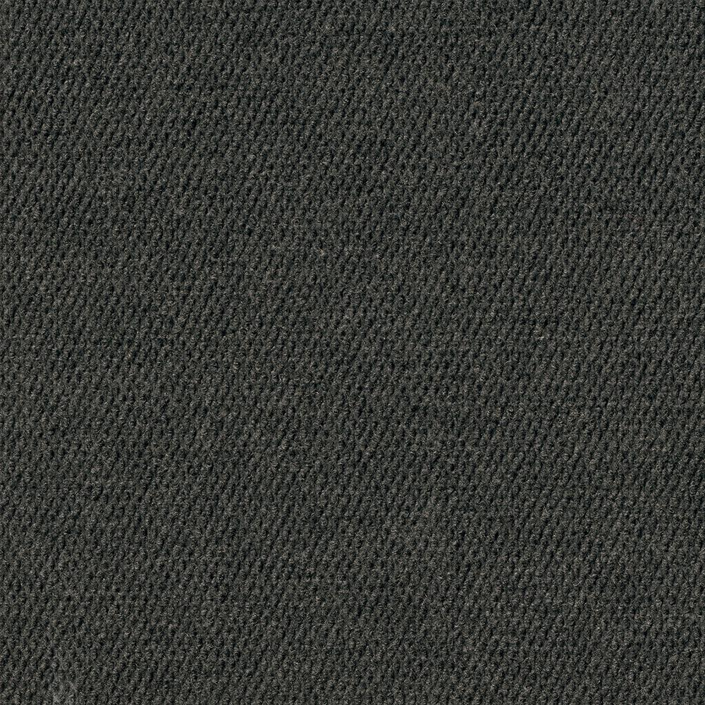 Premium Self-Stick Caserta Black Ice Hobnail Texture 18 in. x 18