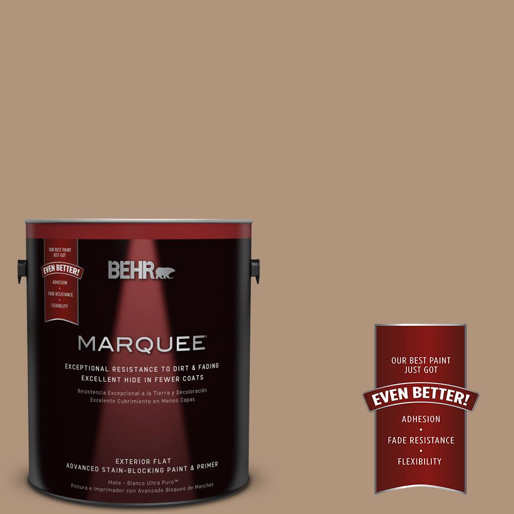 BEHR MARQUEE Home Decorators Collection 1-gal. #HDC-NT-22 Nomadic Flat Exterior Paint