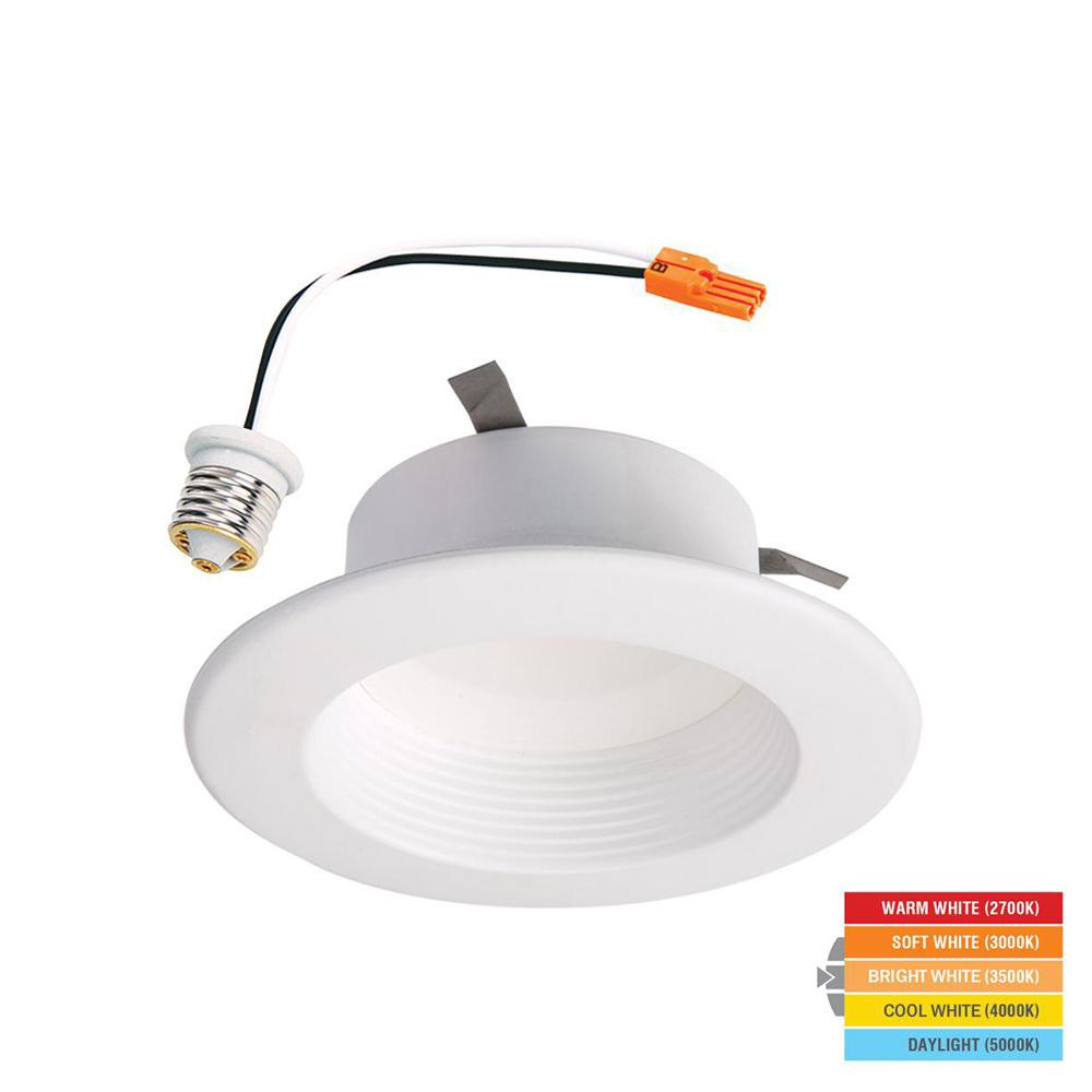 Halo LT 4 In. White Integrated LED Recessed Ceiling Light