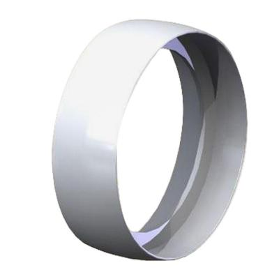 White Handrail Joint Ring