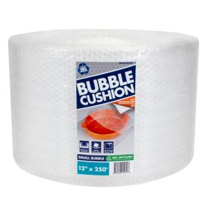 3/16 in. x 12 in. x 250 ft. Clear Perforated Bubble Cushion Wrap