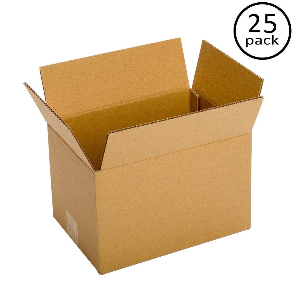 12 in. L x 9 in. W x 9 in. D Box (25-Pack)