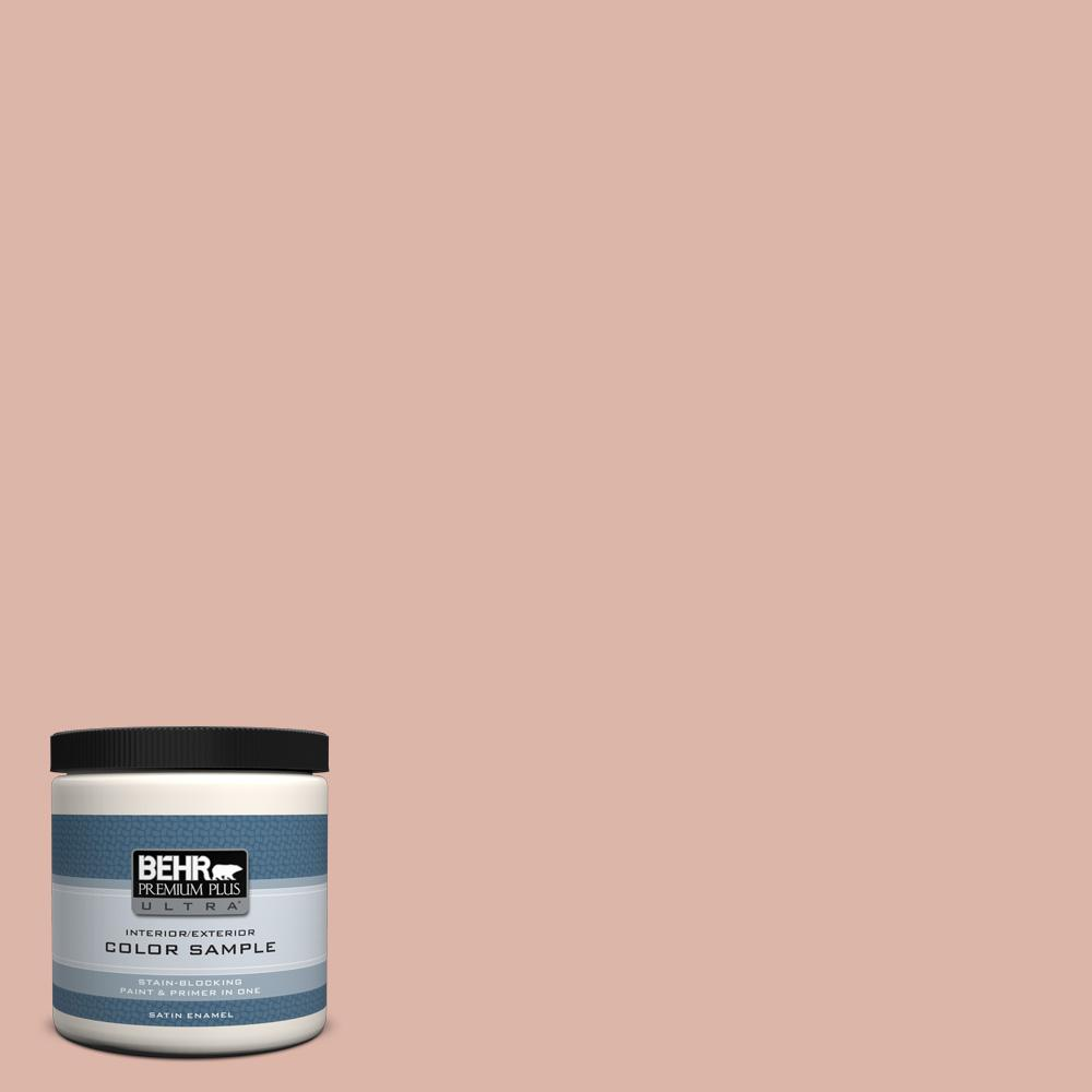 8 oz. #220E-3 Melted Ice Cream Satin Enamel Interior/Exterior Paint and