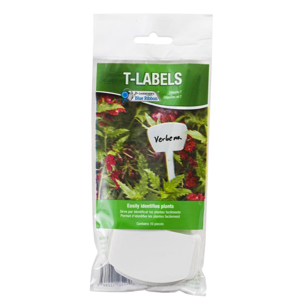 Gardener's Blue Ribbon 6 in. T-Labels (10-Pack)