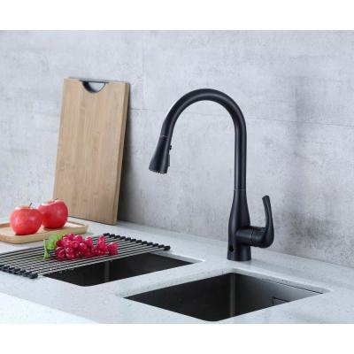 Motion Activated Single-Handle Pull-Down Sprayer Kitchen Faucet in Oil Rubbed Bronze