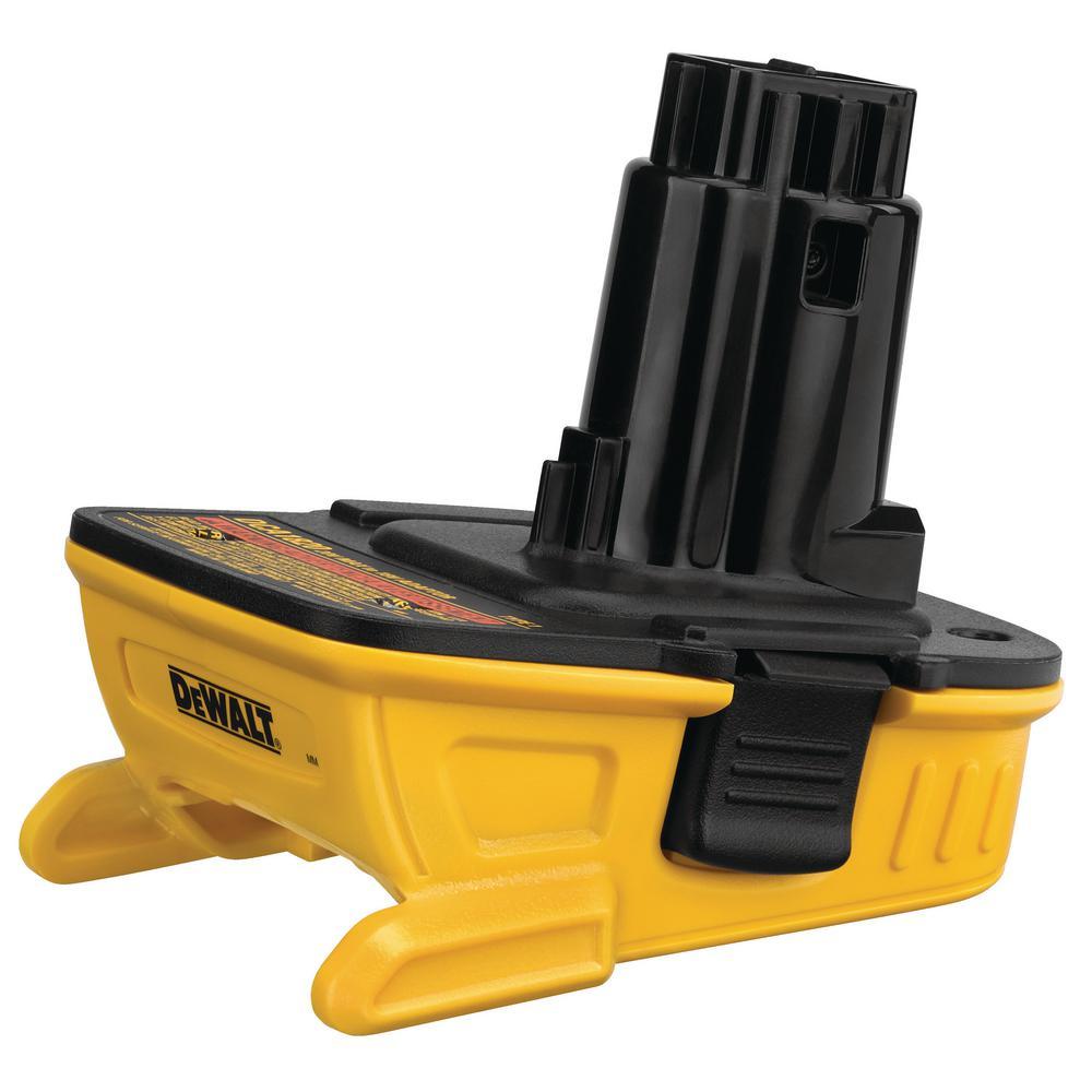 DEWALT 20-Volt MAX Lithium-Ion Battery Adapter for 18-Volt Tools