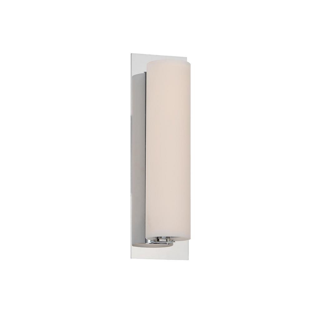 Soho 11 in. Chrome LED Vanity Light Bar and Wall Sconce, 2700K