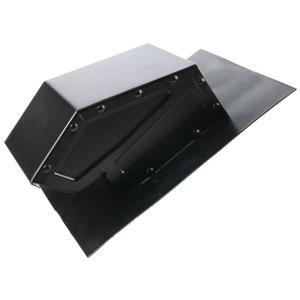 Cool Attic 4 In Galvanized Steel Static Roof Vent In
