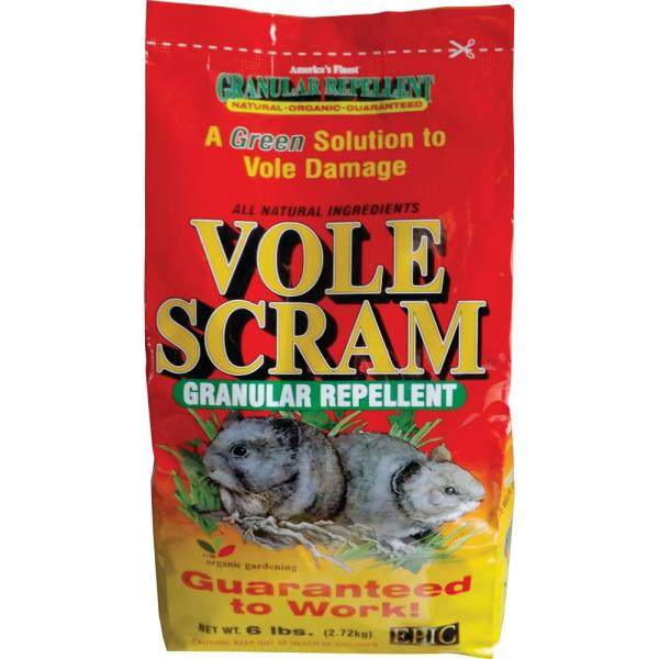 Vole 6 lbs. Repellent Granular Bag