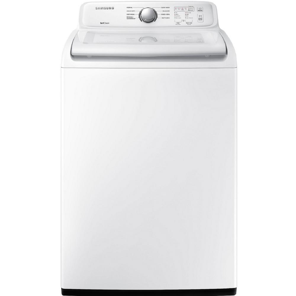Samsung 4.5 cu. ft. High-Efficiency Top Load Washer in White