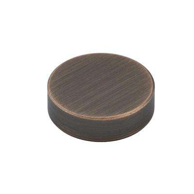 31/32 in. Oil-Rubbed Bronze Steel Screw Cover