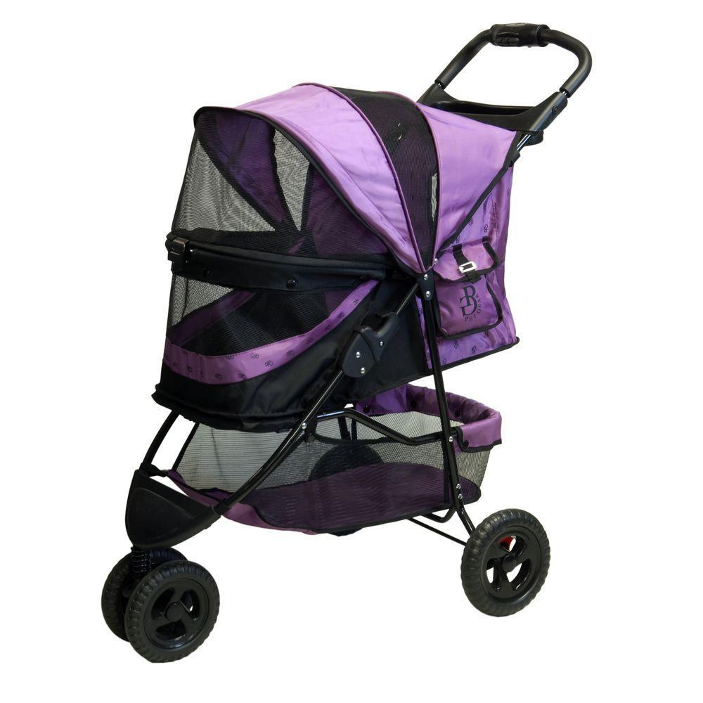 Pet Gear No-Zip Special Edition Orchid Stroller