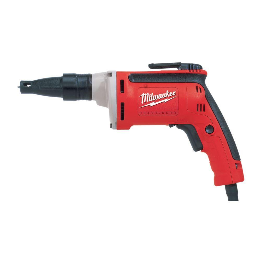 Milwaukee 0 4000 Rpm Drywall Screwdriver 6742 20 The