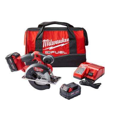 M18 FUEL 18-Volt Brushless Lithium-Ion 5-3/8 in. Cordless Metal Saw Kit