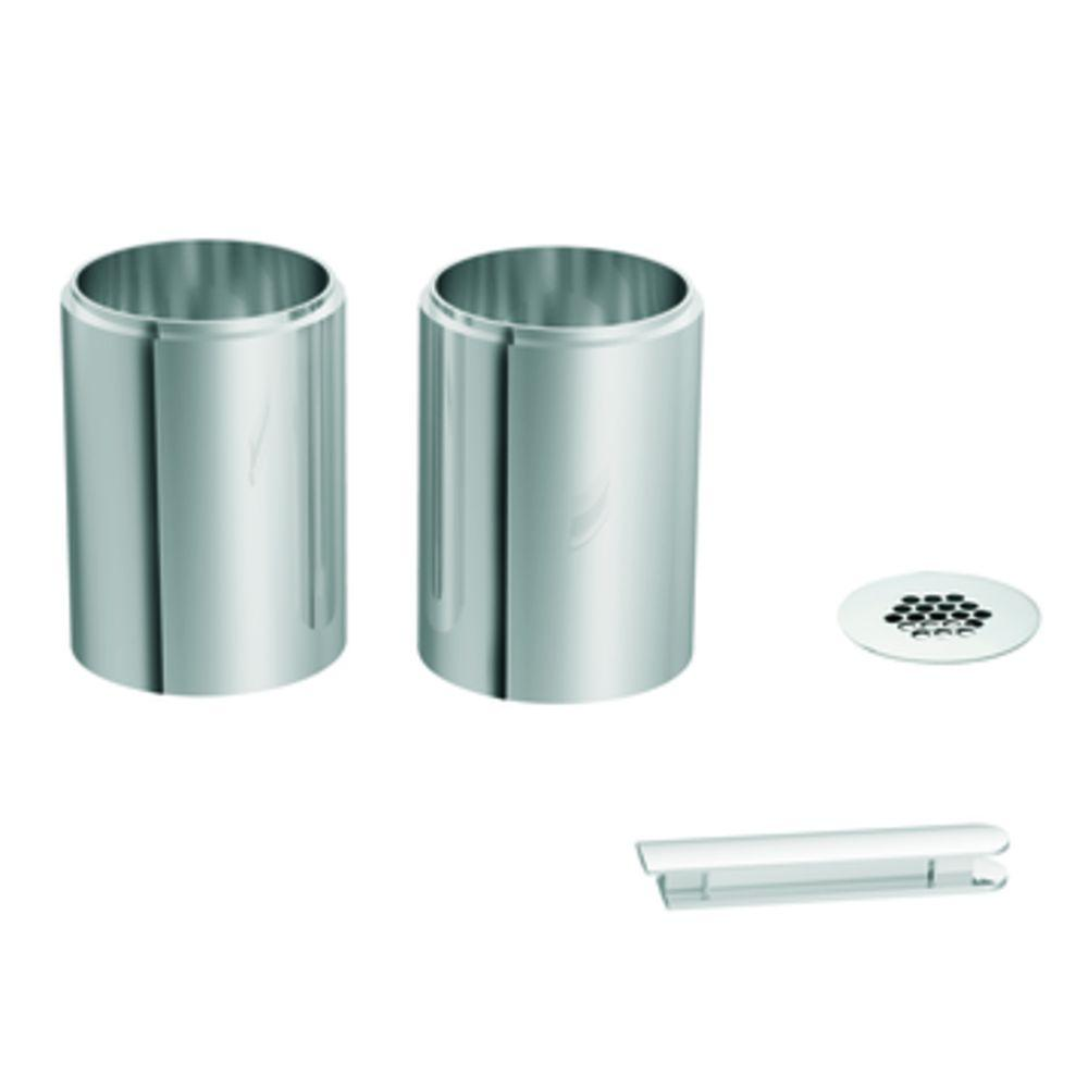 MOEN Icon Vessel Extension Kit in Chrome-A1717 - The Home Depot