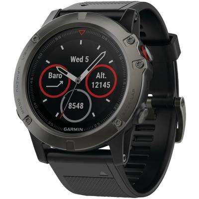 Fenix 5X 51 mm Multisport Sapphire Edition Watch with GPS and Maps