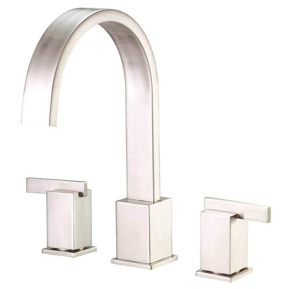 Danze Sirius 2-Handle Top-Mount Roman Tub Faucet in Brushed Nickel ...