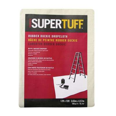 12 ft. x 15 ft. Heavyweight Coated drop cloth