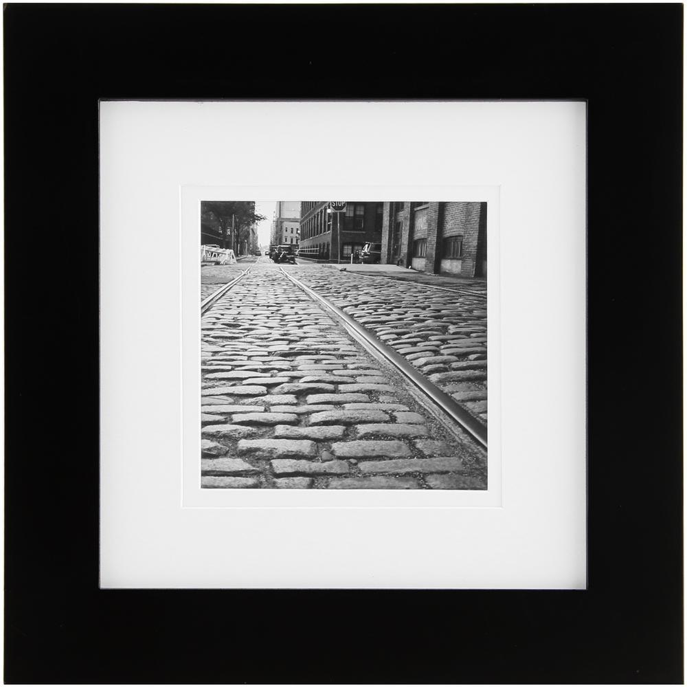 4 in. x 4 in. Black Picture Frame