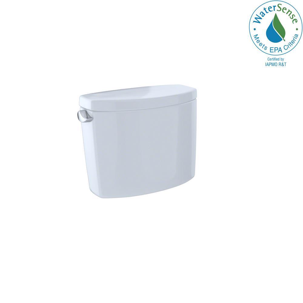 TOTO Drake II 1.28 GPF Single Flush Toilet Tank Only in Cotton White ...