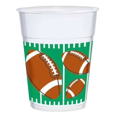 3.75 in. x 4.5 in. 16 oz. Football Plastic Cups