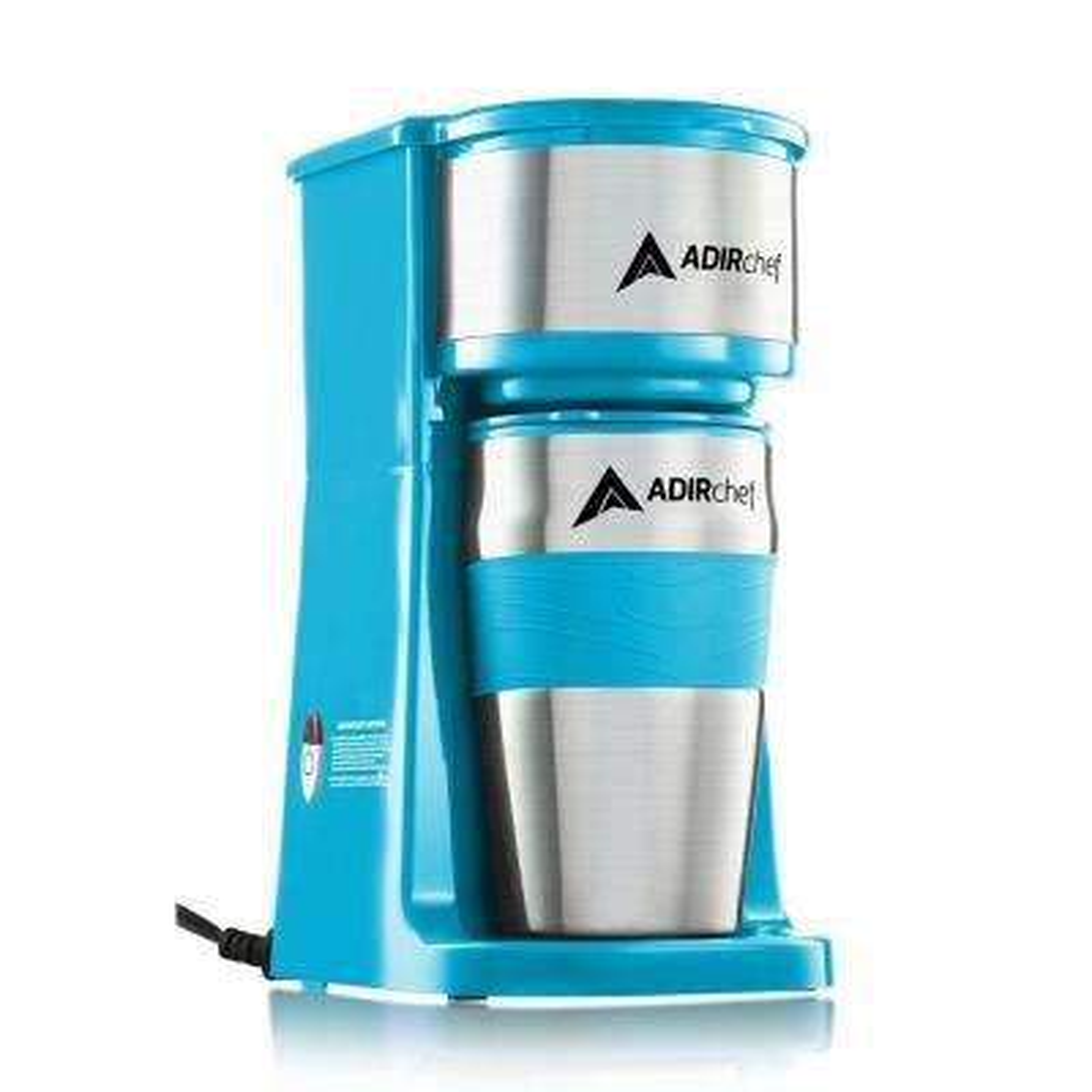 Grab'n Go Single Cup Serve Coffee Maker in Crystal Blue
