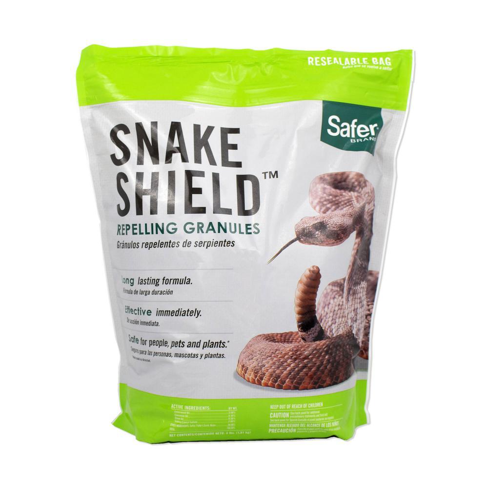 Safer Brand Snake Shield 4 lbs  Snake Repellent Granules