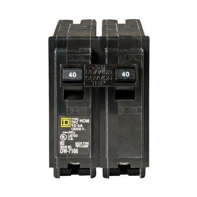 Homeline 40 Amp 2-Pole Circuit Breaker