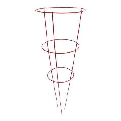 14 in. x 42 in. Red Tomato Plant Support (5 Pack)