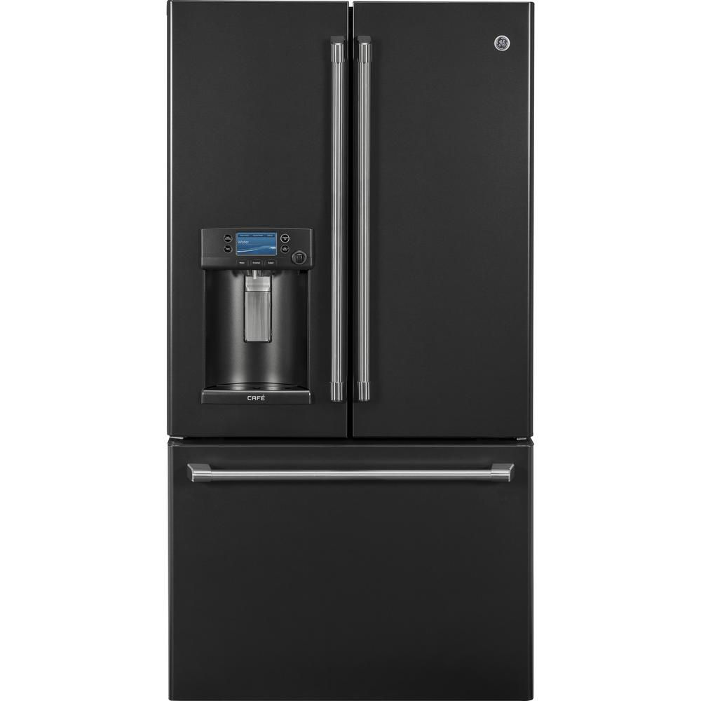 GE Cafe 22.2 cu. ft. Smart French-Door Refrigerator with ...