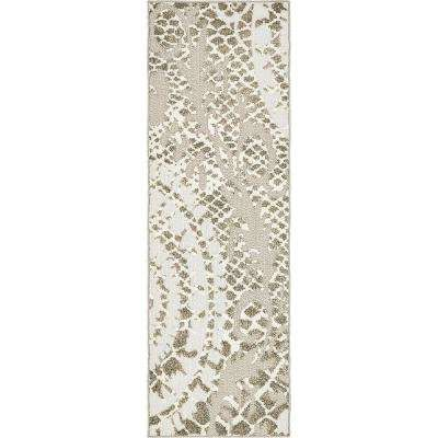 Indoor/Outdoor Pasadena Ivory 2' 0 x 6' 0 Runner Rug
