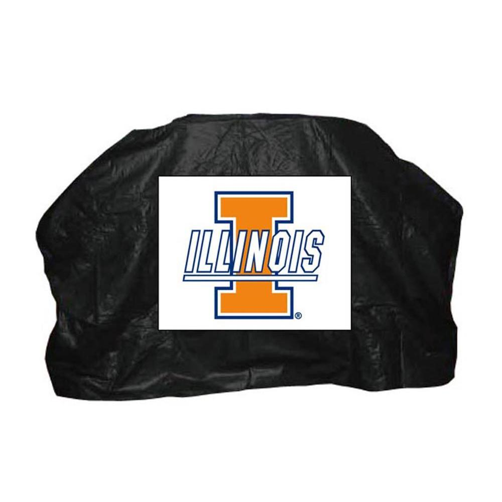 59 in. NCAA Illinois Grill Cover