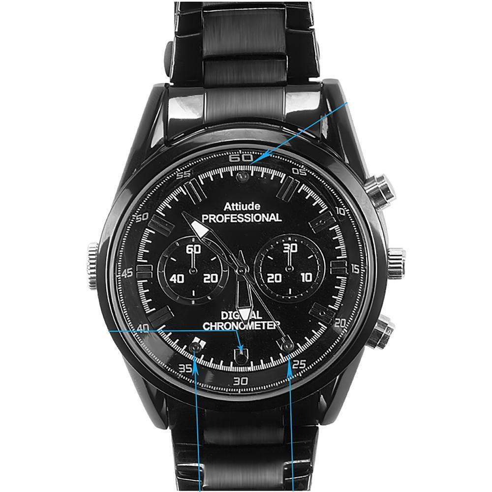 Wrist Watch Camera with Hidden Built-in Covert Camera