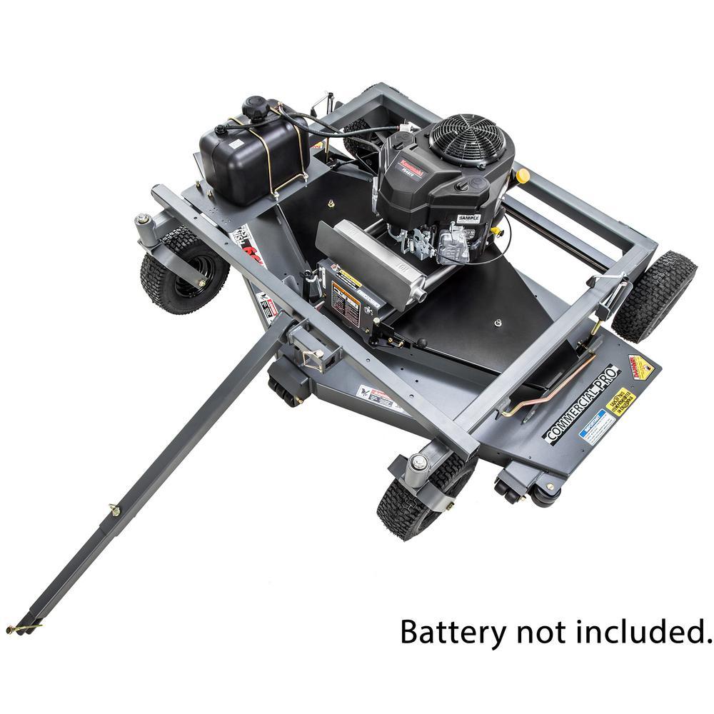 Commercial Pro 66 in. 14.5-HP Kawasaki Electric Start Finish-Cut Trail Mower