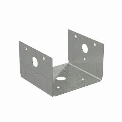 BC Galvanized Post Base for 4x Nominal Lumber