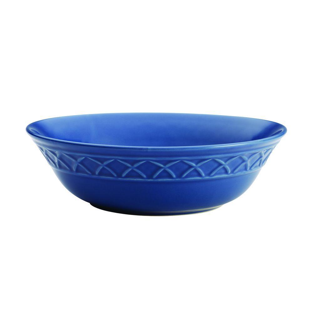 PAULA Dinnerware Savannah Trellis 10 in. Stoneware Round ...