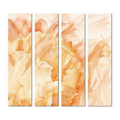 3 in. x 12 in. x 6mm Upscale Designs Crystal Beveled Glass Mosaic Wall Tile (7.8 sq. ft. / set of 32)