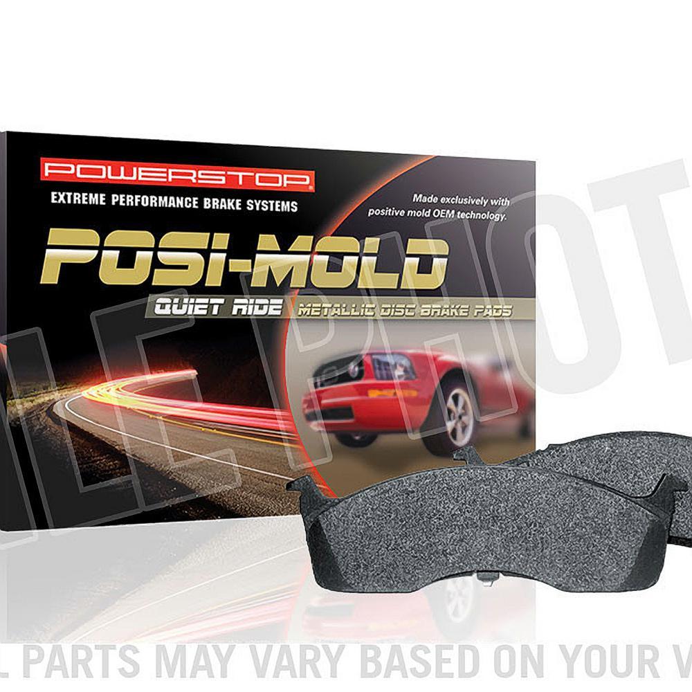 Power Stop Brakes >> Power Stop Rear Posi Mold Carbon Matrix Metallic Disc Brake Pad Fits