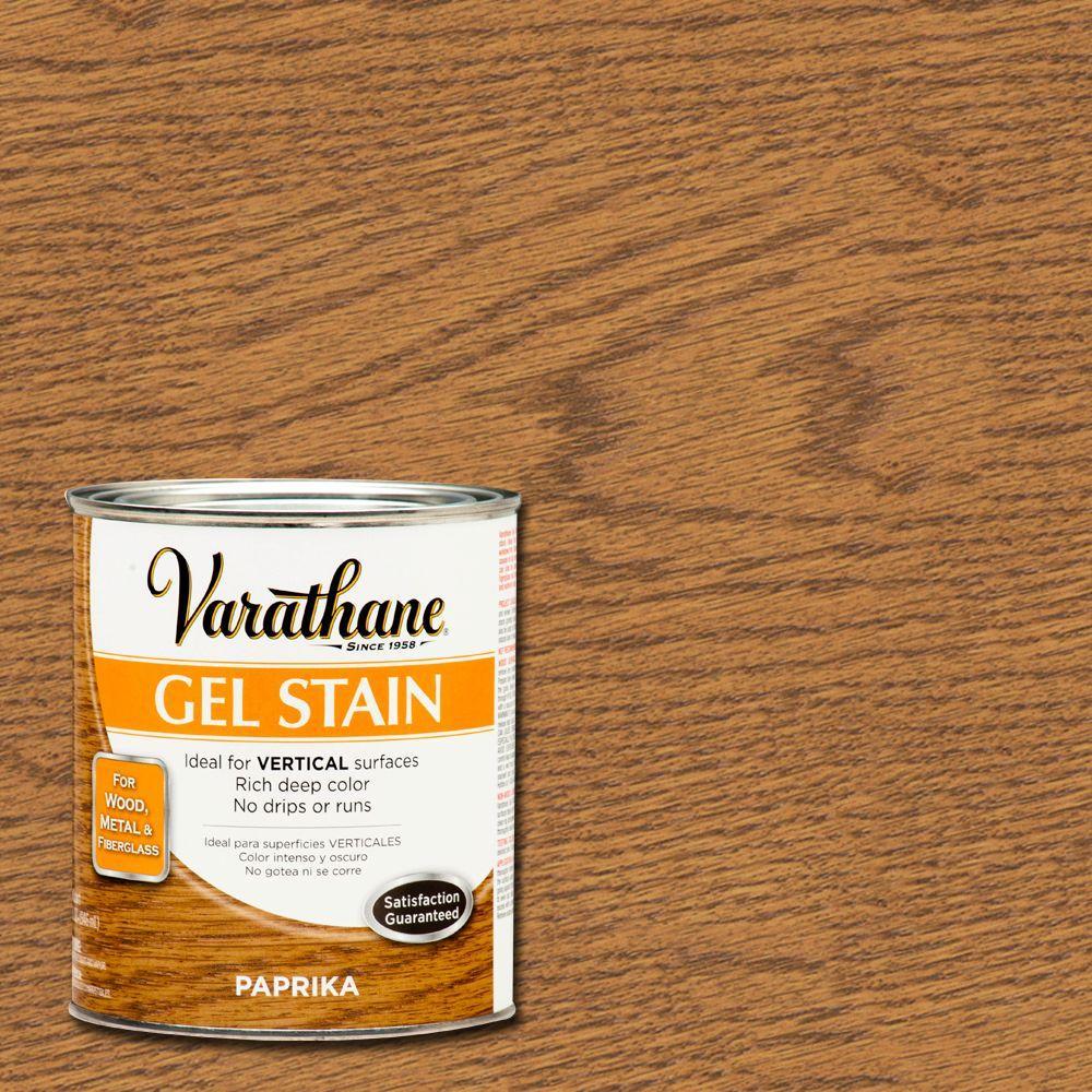 Varathane 1-qt. Paprika Gel Stain (Case of 2)