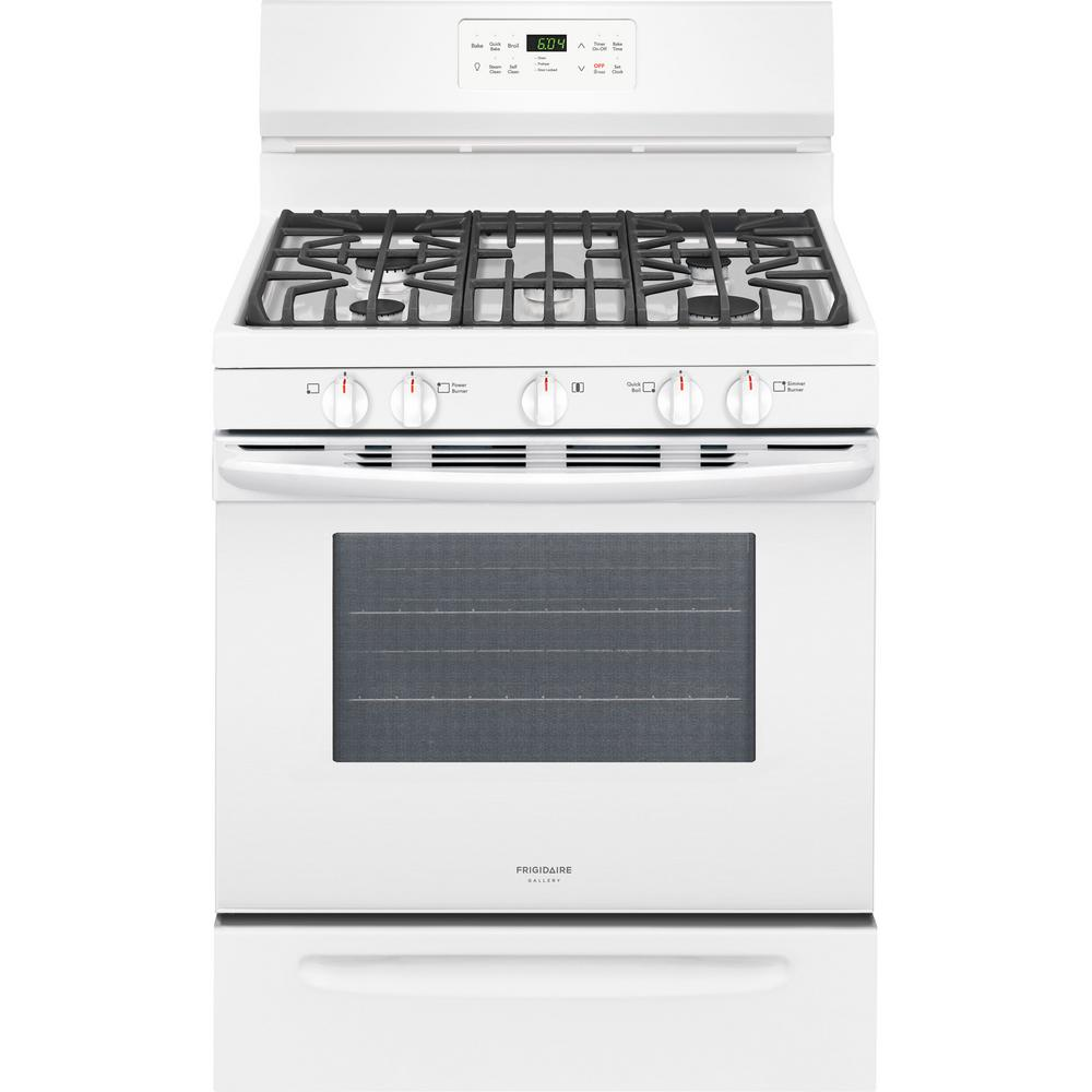 Frigidaire Gallery 5-Burner Freestanding 5-Cu Ft Self-Cleaning Convect