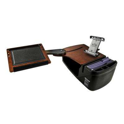 Reach Desk Back Seat Mahogany with iPad/Tablet Mount