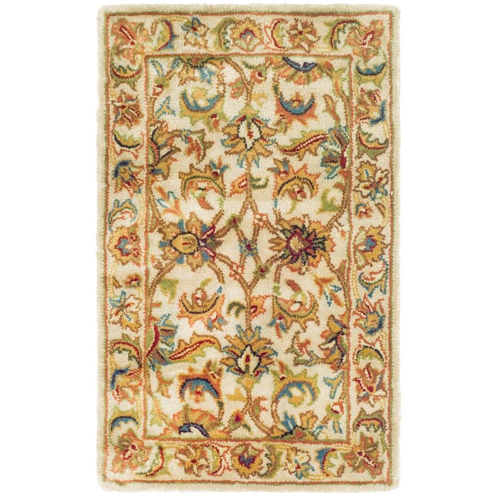 Classic Ivory 2 ft. 3 in. x 4 ft. Area Rug