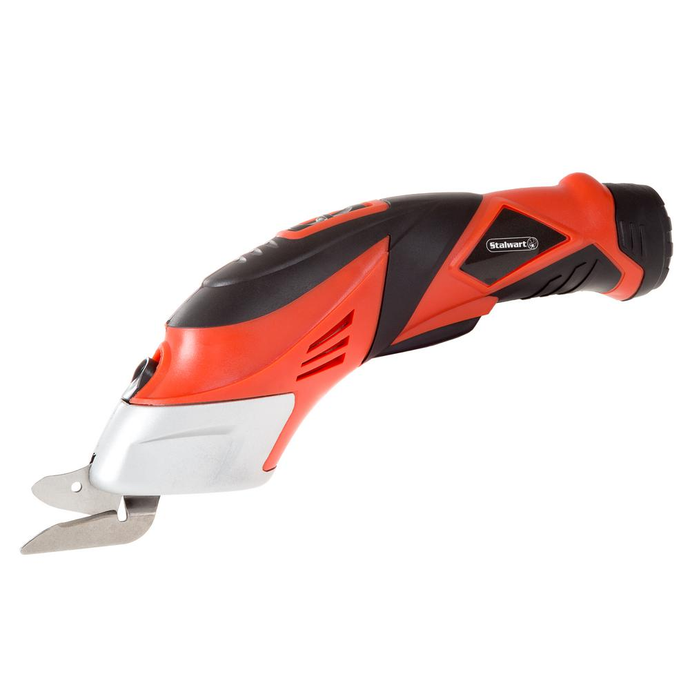 Stalwart 1.25 in. Cordless Power Scissors