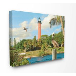 tropical home decor items the stupell home decor collection 24 in x 30 in  juptier inlet  the stupell home decor collection 24 in