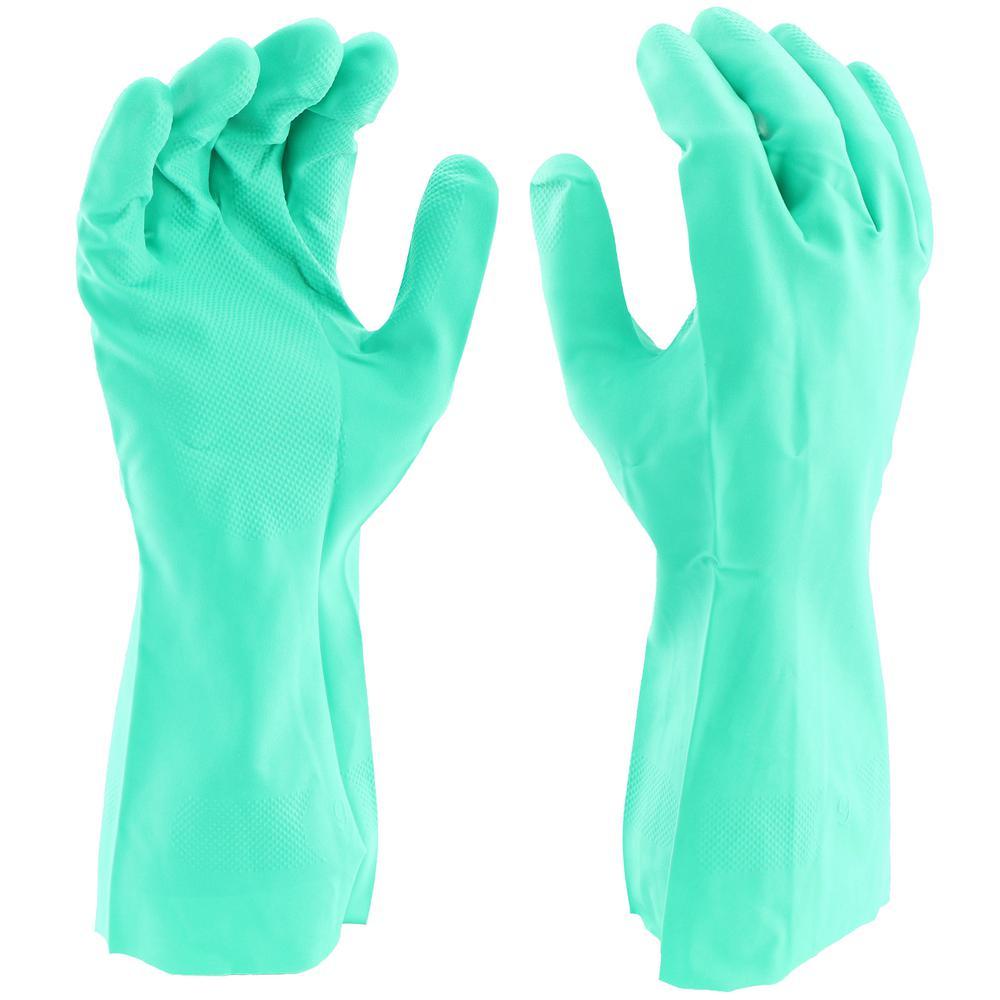 Everbilt Nitrile Cleaning Gloves, X-Large