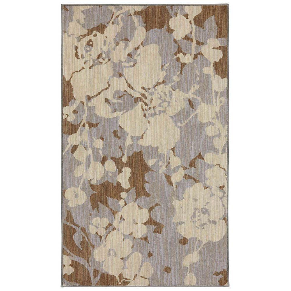 Karastan Estelle Dove Multi 3 ft. 3 in. x 5 ft. 6 in. Accent Rug