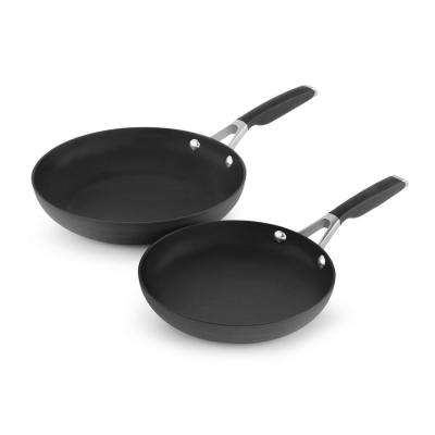 Select 8 in. and 10 in. Hard Anodized Nonstick Fry Pan Combo Set (2-Piece)