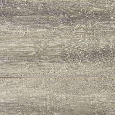 Embossed Silverbrook Aged Oak 12 mm Thick x 6-1/6 in. Wide x 50-9/16 in. Length Laminate Flooring (17.32 sq. ft. / case)