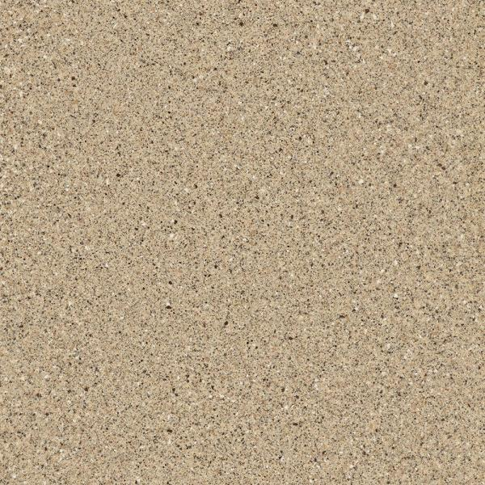 4 in. x 4 in. Solid Surface Vanity Top Sample in Caramel